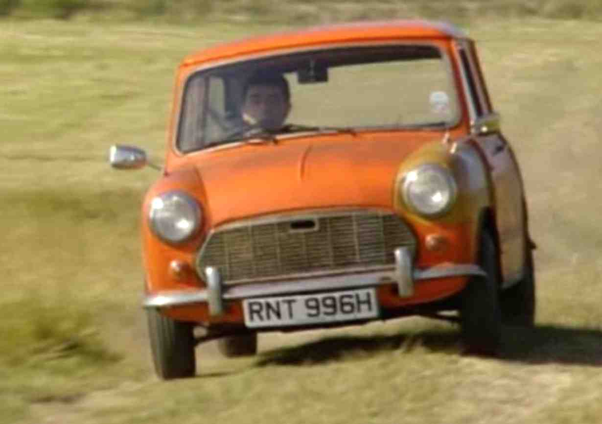 Mr beans car mr beans first car was an orange 1969 bmc mini mark 2 registration number rnt 996h which was destroyed in the very first episode after a collision in solutioingenieria Images